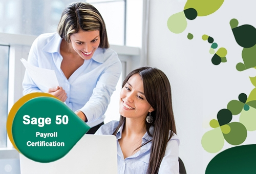 OFFICIAL SAGE 50 PAYROLL CERTIFICATION (STAGE 1 & 2 PACKAGE)