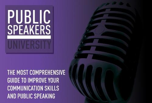 Public Speakers