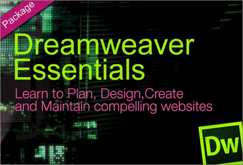 DREAMWEAVER ESSENTIALS PACKAGE