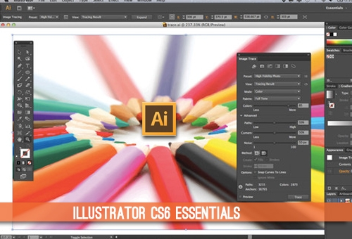 Illustrator CS6 essentials