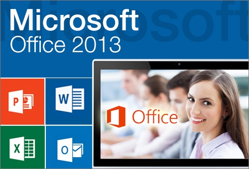 MICROSOFT OFFICE 2013 WITH AN EXAM