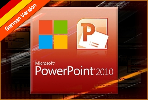 MICROSOFT POWERPOINT 2010 ONLINE TRAINING German