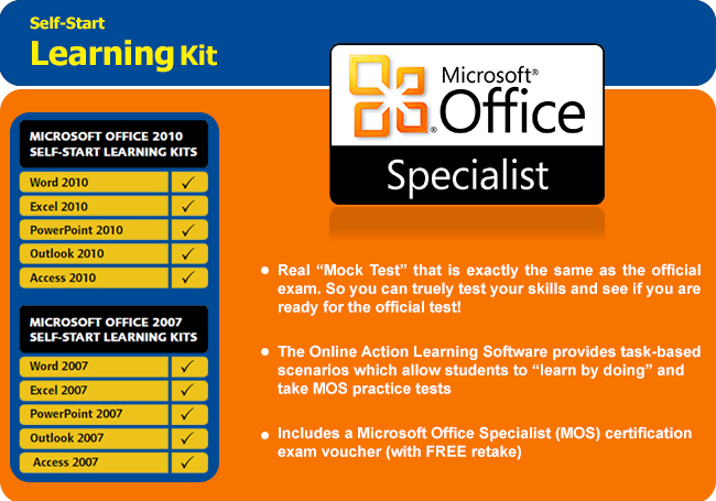 microsoft office specialist access exam  u0026 certification
